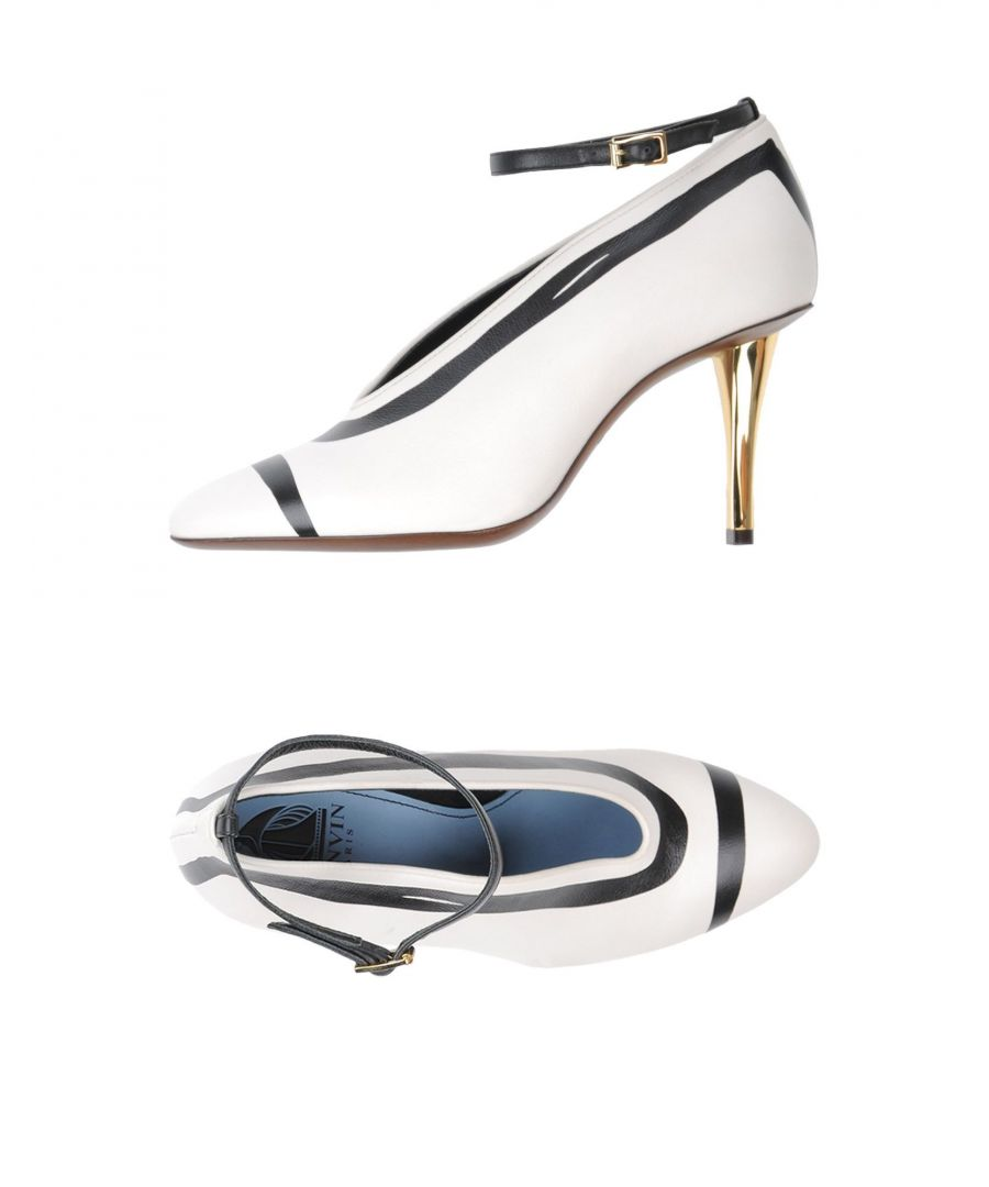 Image for Lanvin White Calf Leather Heels