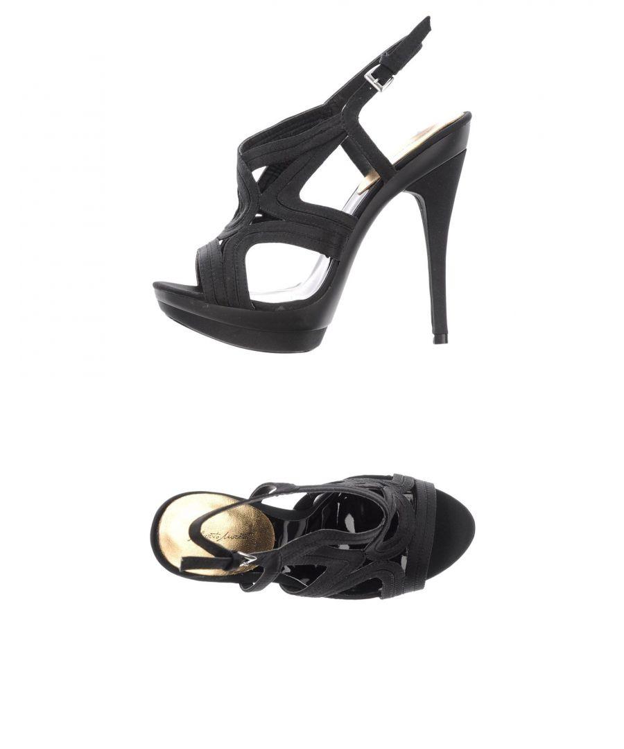 Image for Alberto Moretti Black Heeled Sandals