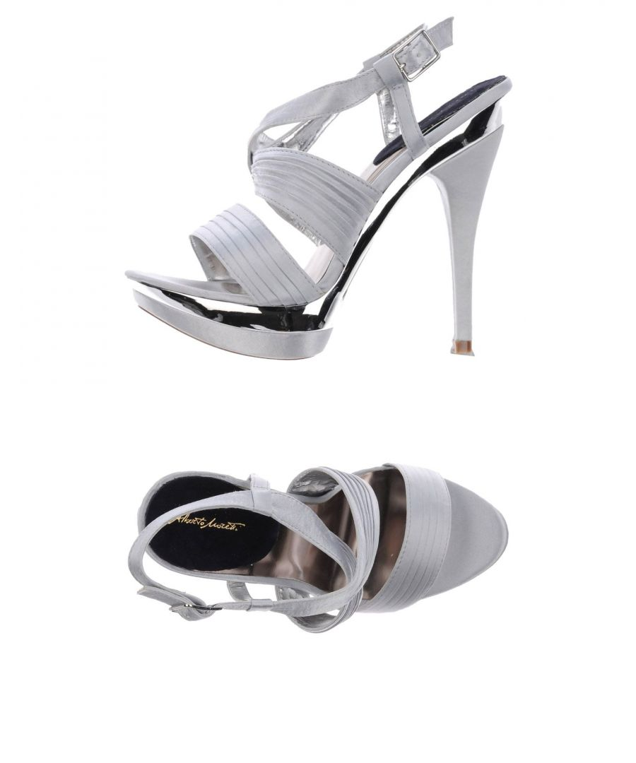 Image for Alberto Moretti Light Grey Heeled Sandals