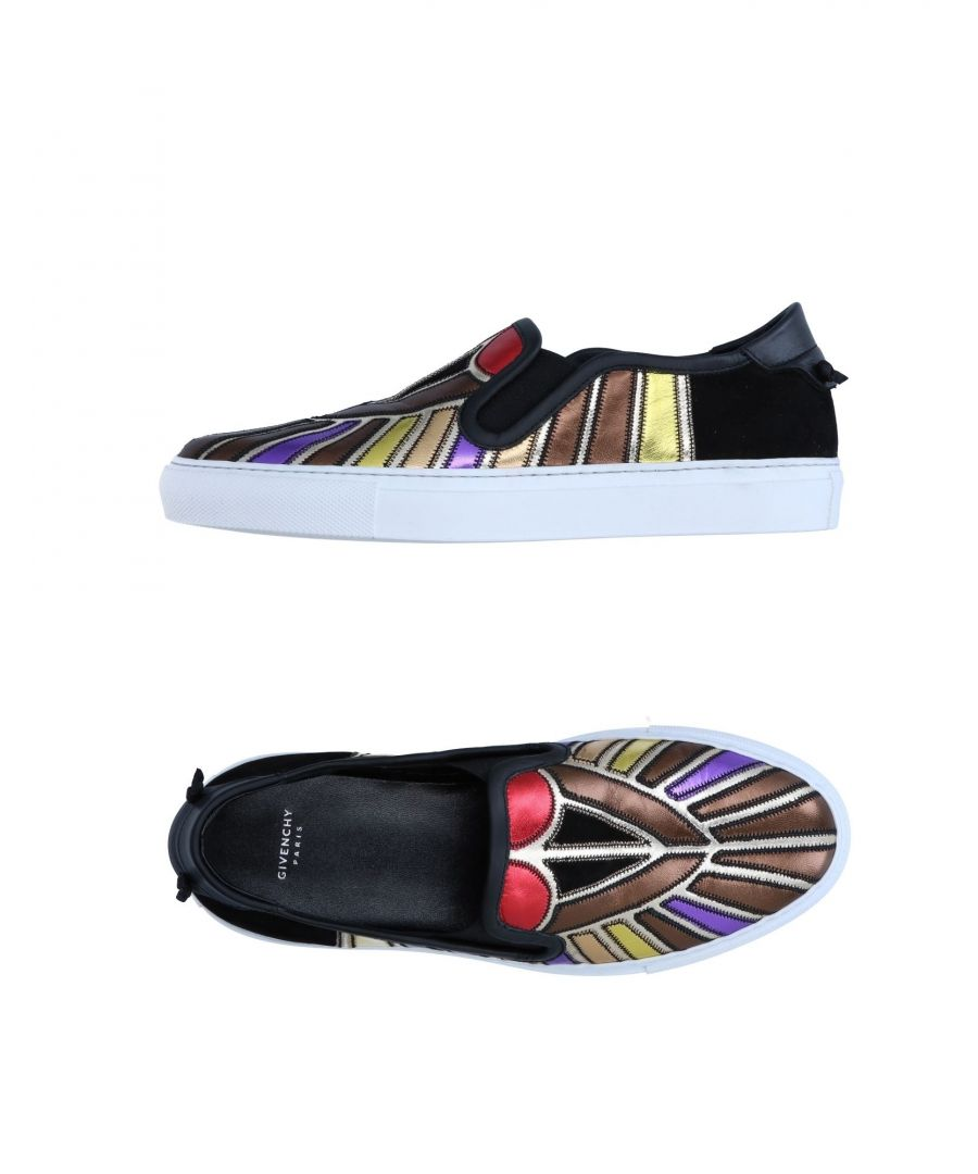 Image for Givenchy Brown Pattern Leather Slip Ons