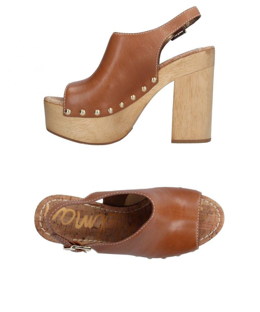 Image for FOOTWEAR Sam Edelman Camel Woman Leather