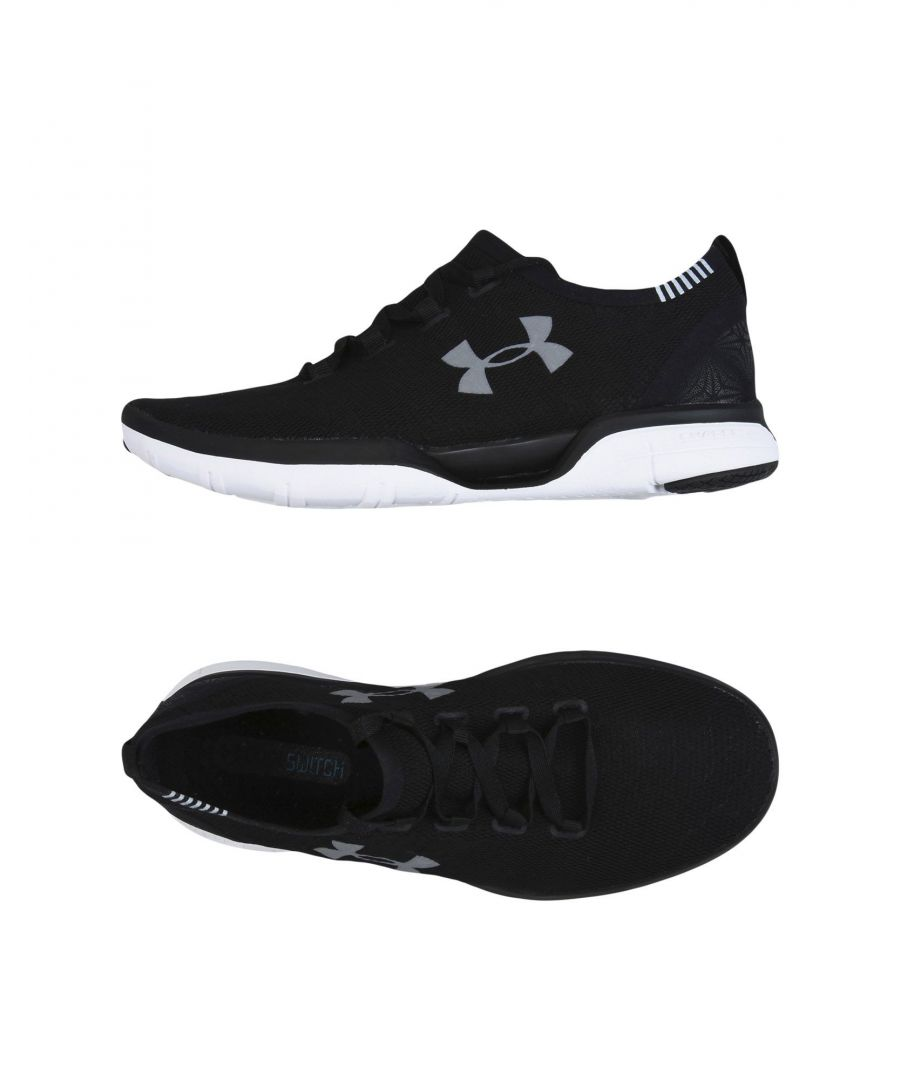 Image for Under Armour Black Techno Fabric Sneakers