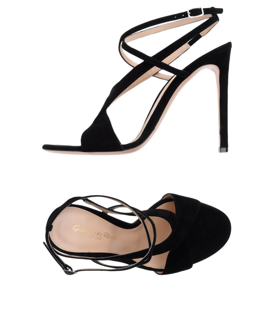 Image for Gianvito Rossi Black Leather Heels