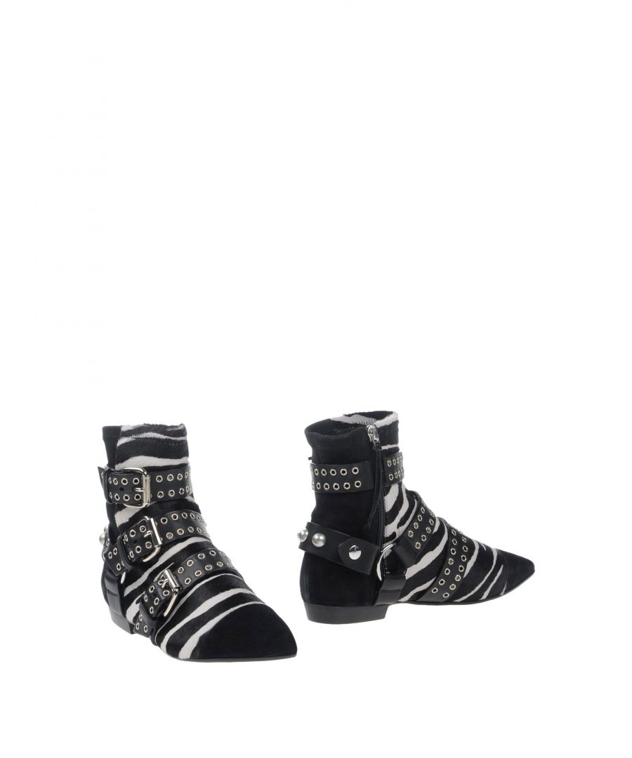 Image for Isabel Marant Black Calf Leather Ankle Boots
