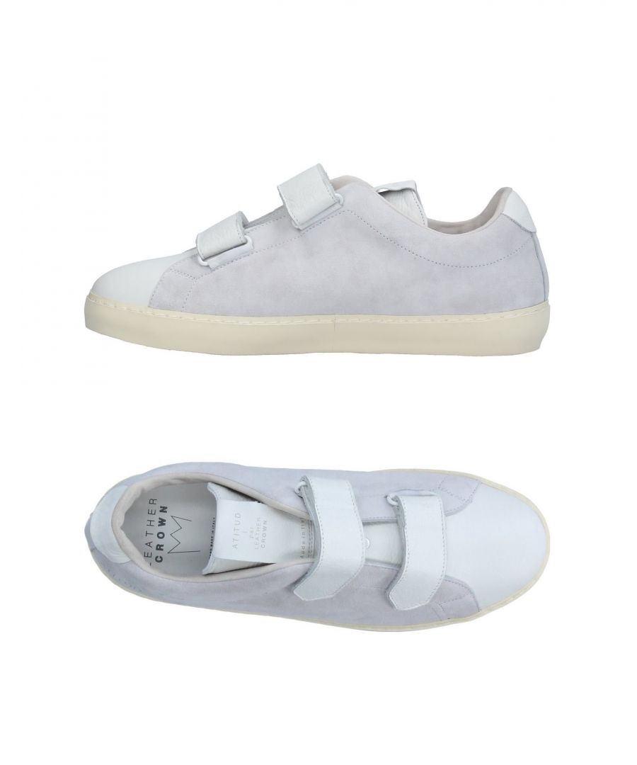 Image for Leather Crown White Leather Sneakers