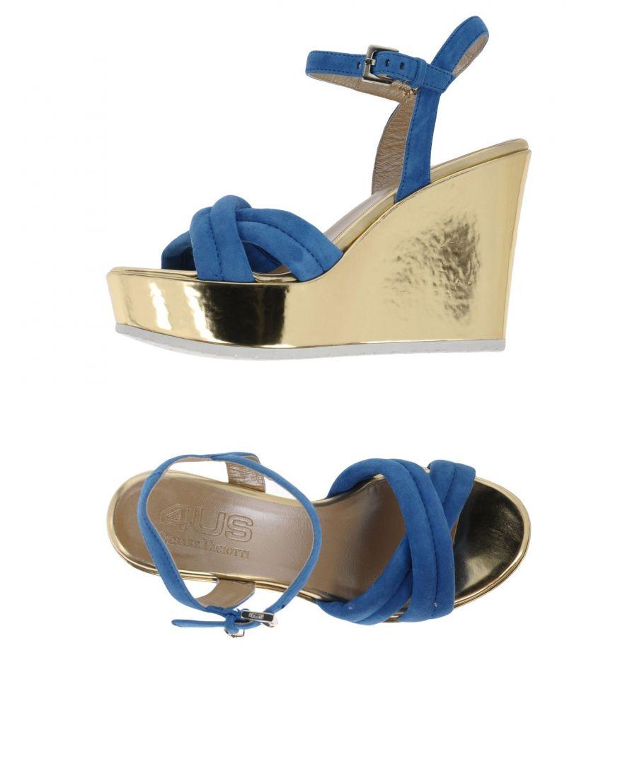Image for FOOTWEAR Cesare Paciotti 4Us Pastel blue Woman Leather