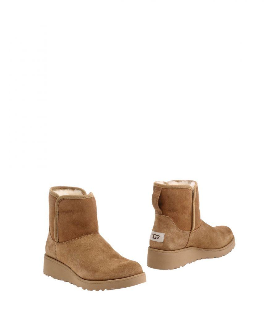 Image for Ugg Australia Camel Leather Boots
