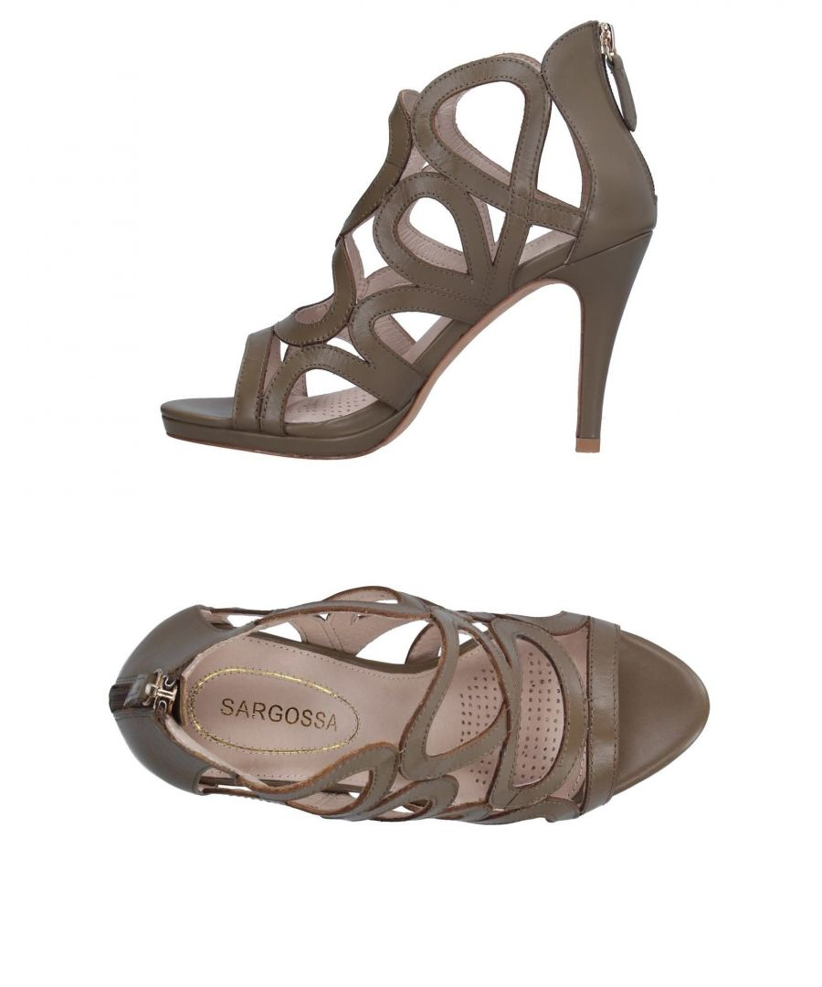 Image for FOOTWEAR Sargossa Military green Woman Leather