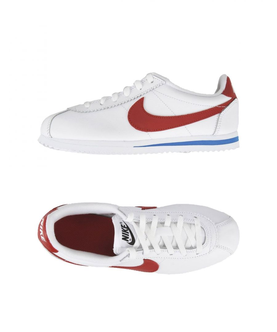 Image for Nike White Leather Sneakers
