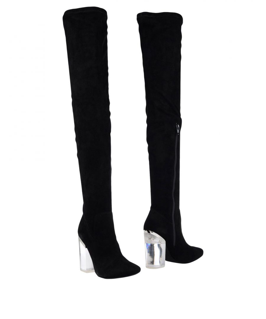 Image for Steve Madden Black Over The Knee Boots