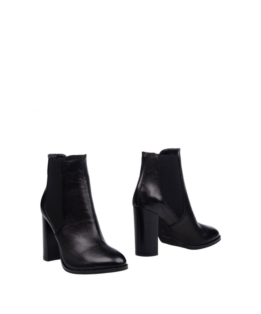 Image for Bagatt Black Leather Ankle Boots