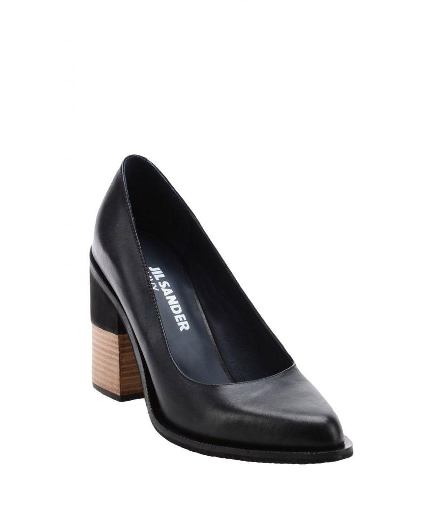 Image for Jil Sander Navy Black Calf leather Heels