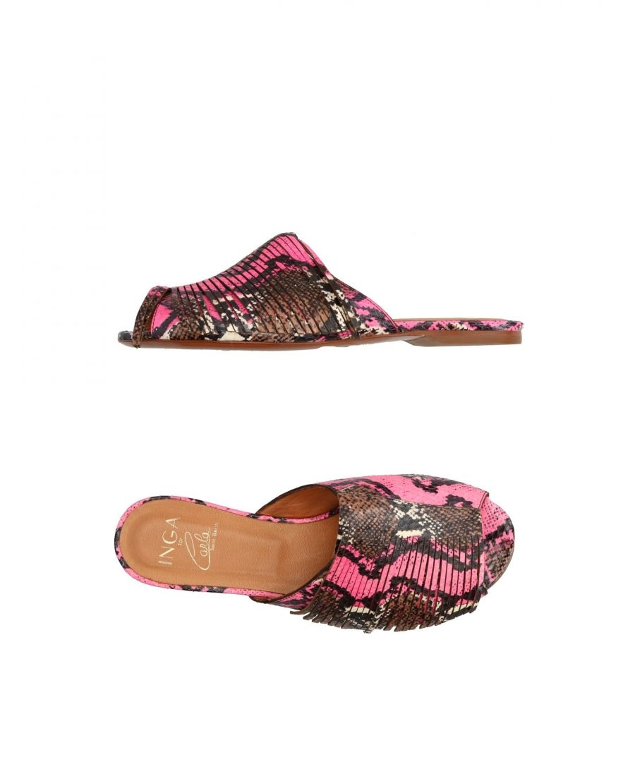 Image for Inga Fuchsia Serpente Sandals