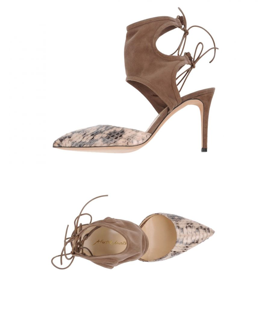 Image for Alberto Moretti Beige Leather Heels