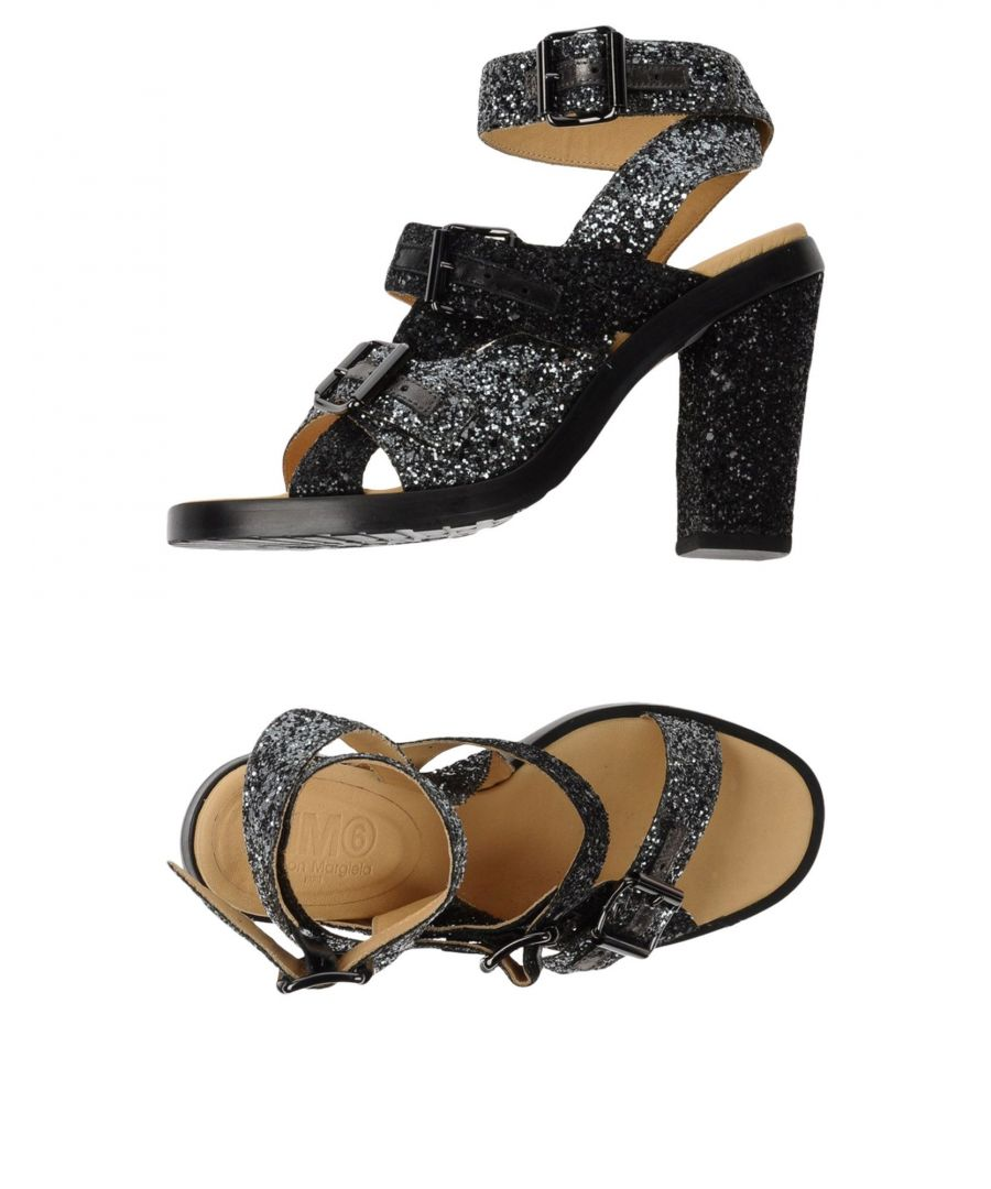 Image for Mm6 Maison Margiela Women's Sandals Lead Leather