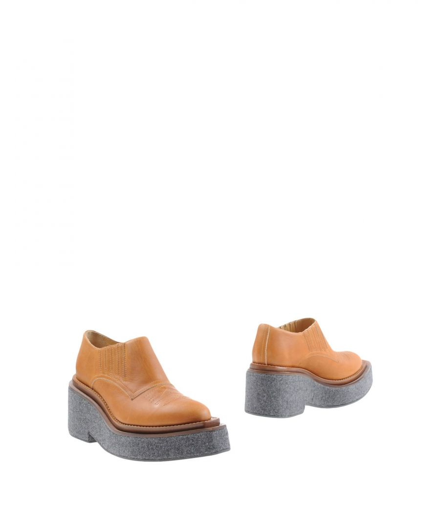 Image for MM6 Maison Margiela Brown Leather Shoes