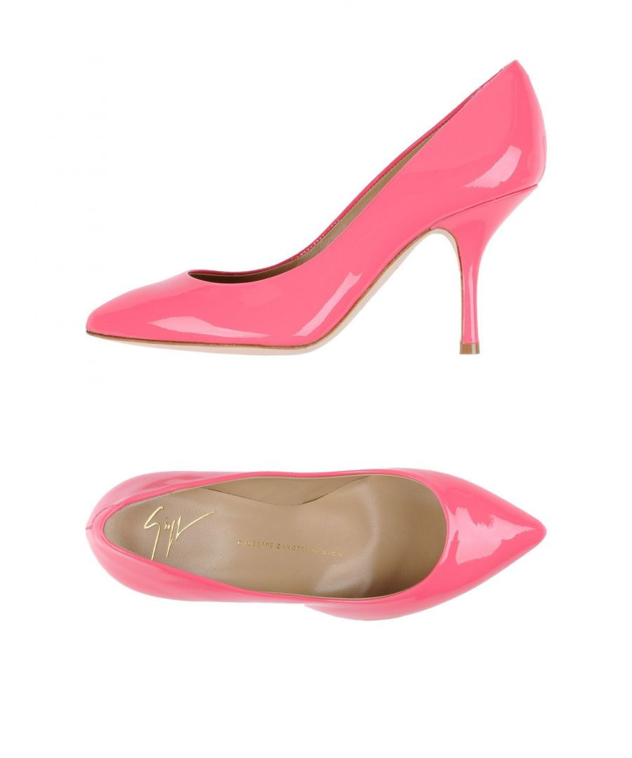 Image for Giuseppe Zanotti Fuchsia Leather Heels