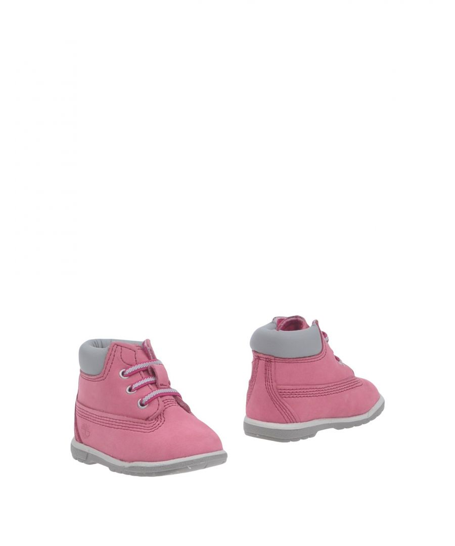 Image for Timberland Pink Girl Leather Shoes