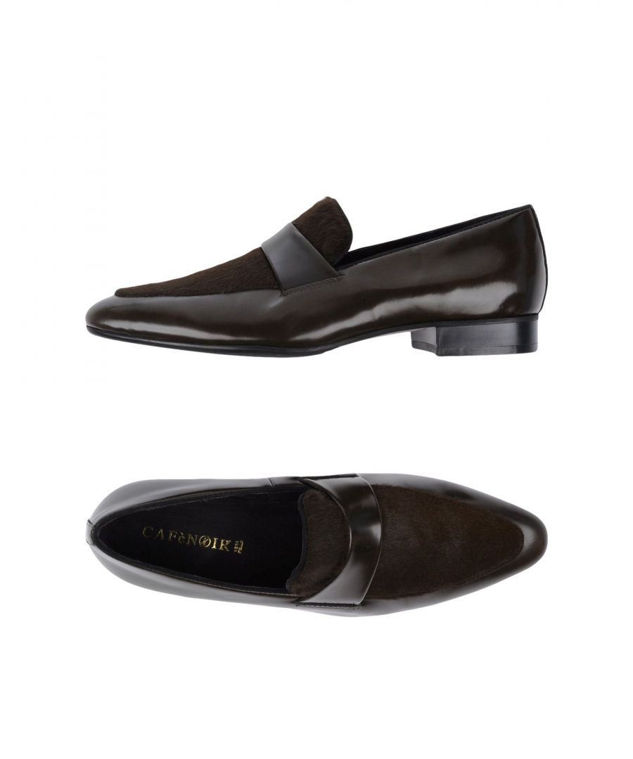 Image for Cafenoir Dark Green Leather Loafers