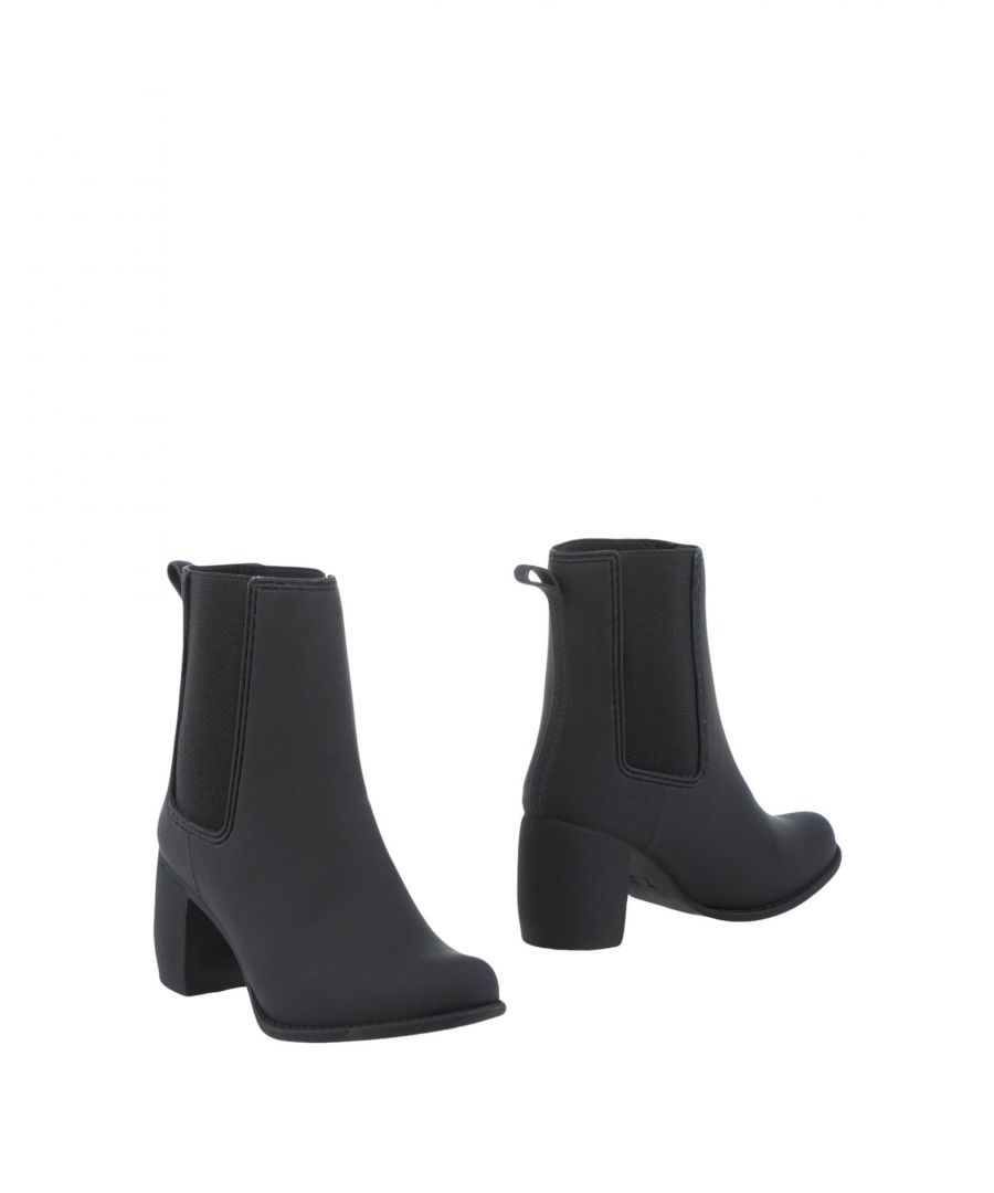 Image for Jeffrey Campbell Black Heeled Chelsea Boots