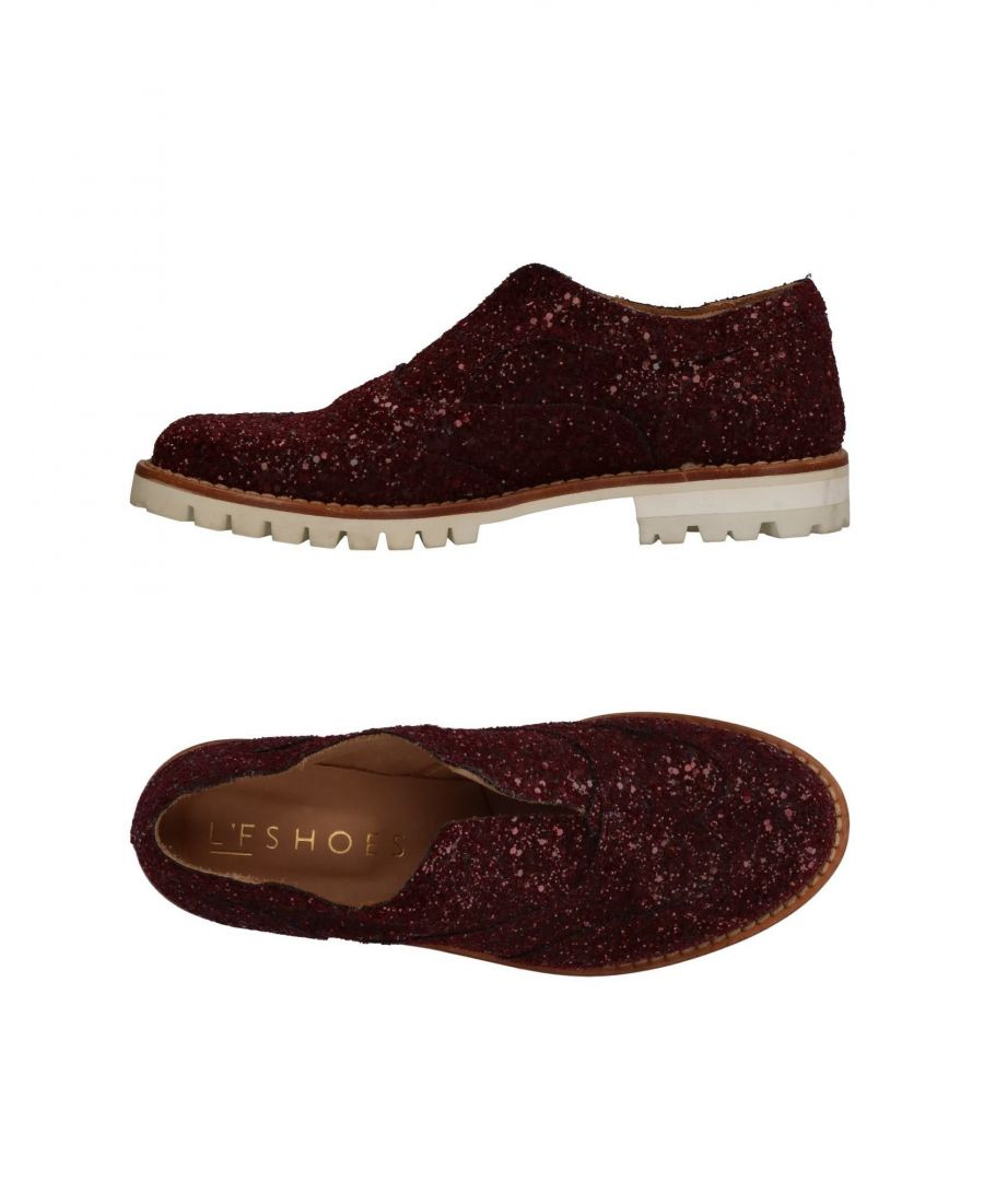 Image for FOOTWEAR L'F Shoes Maroon Woman Textile fibres