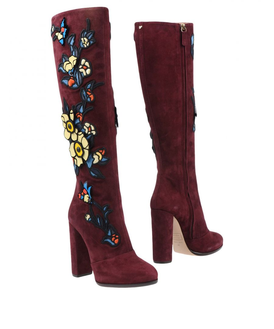 Image for Dsquared2 Deep Purple Leather Boots