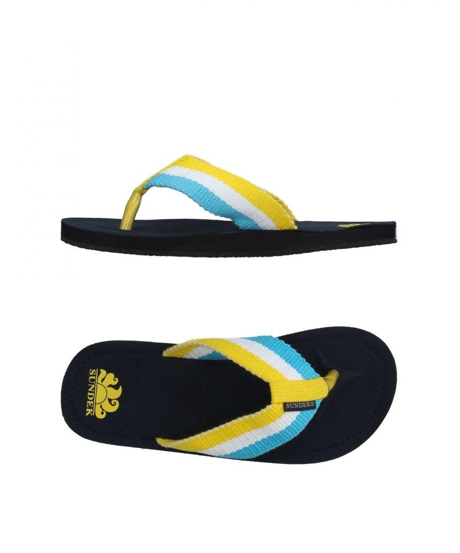 Image for FOOTWEAR Sundek Yellow Boy Textile fibres