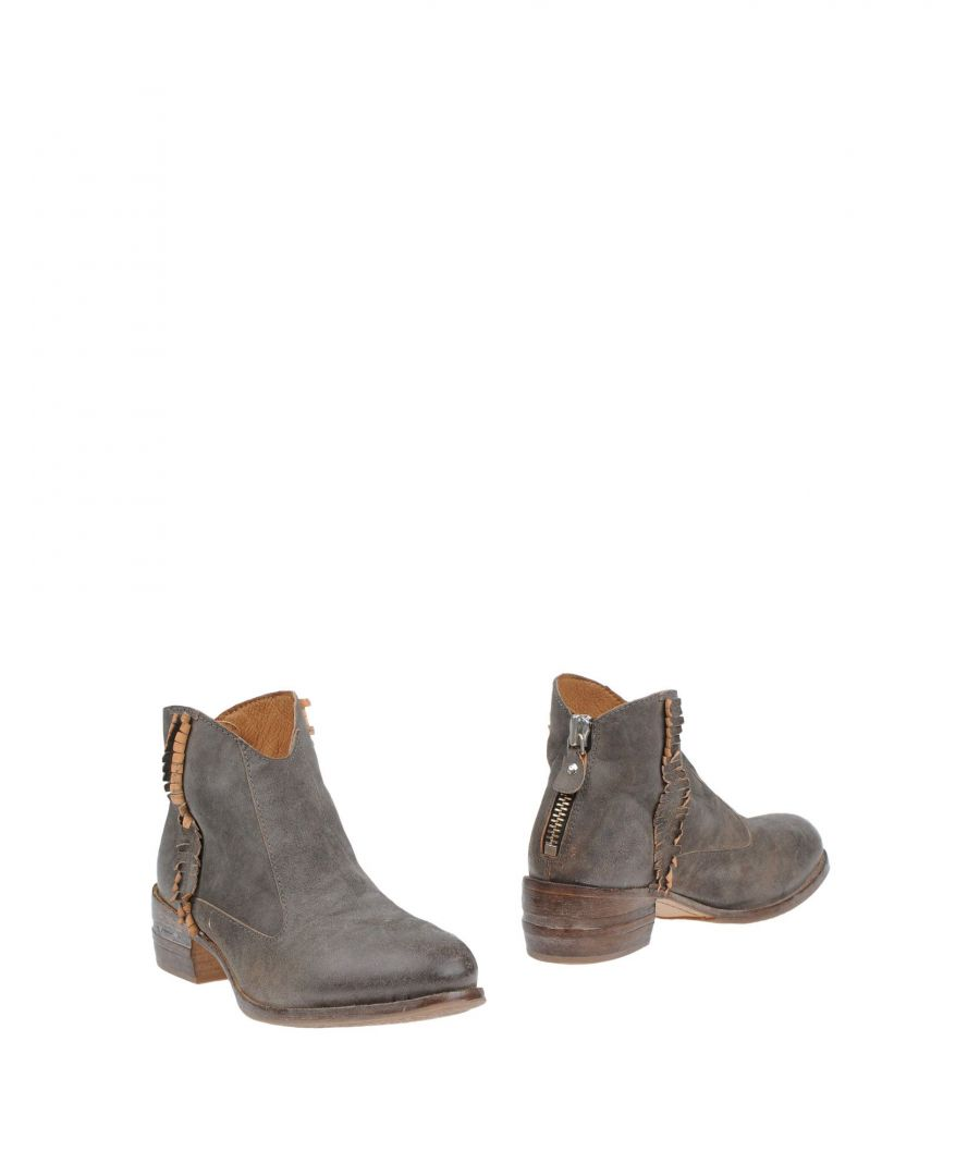 Image for Moma Lead Leather Ankle Boots