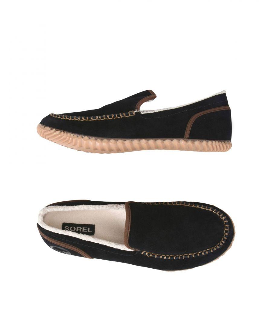 Image for Sorel Black Man Leather Slip Ons
