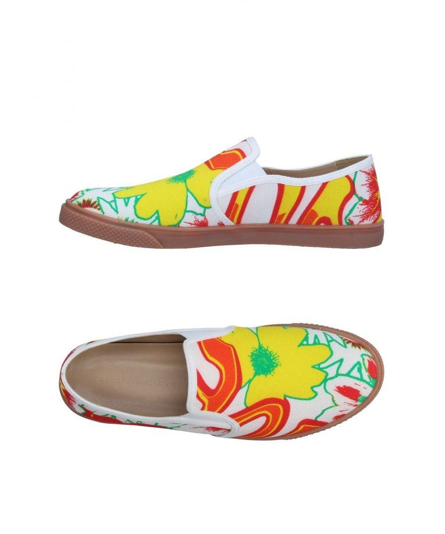 Image for Stella McCartney Men White Floral Print Slip Ons