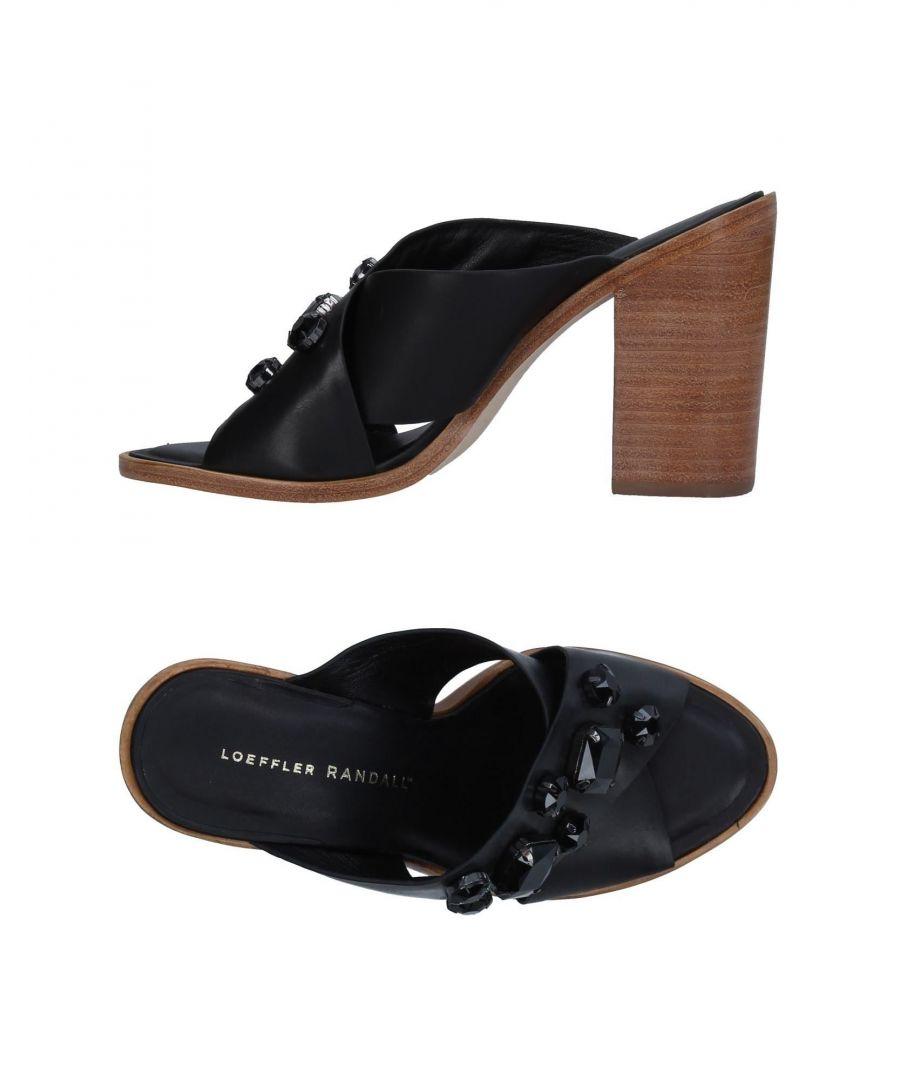 Image for Loeffler Randall Black Leather Heels