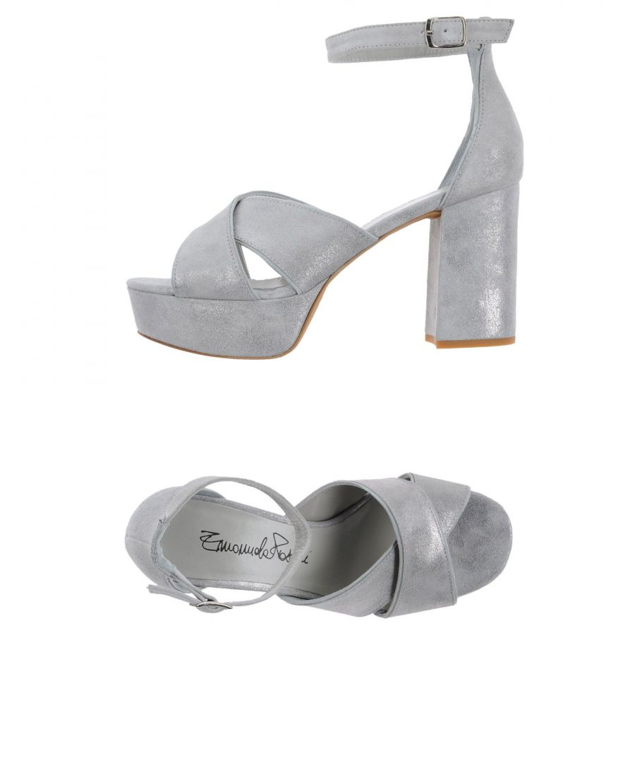 Image for FOOTWEAR Emanuela Passeri Light grey Woman Leather