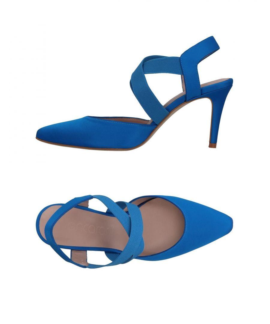 Image for Ancarani Azure Satin Heels