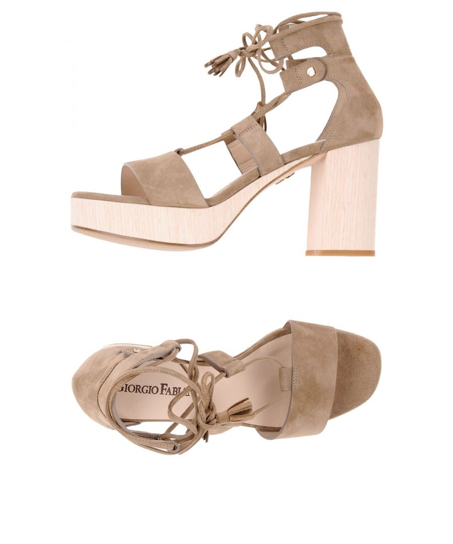 Image for FOOTWEAR Giorgio Fabiani Khaki Woman Leather