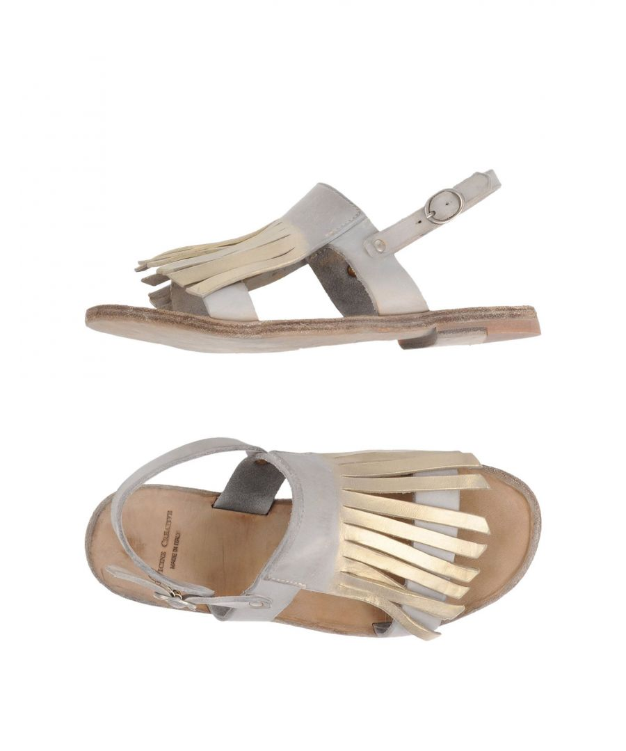 Image for Officine Creative Italia Grey Leather Sandals