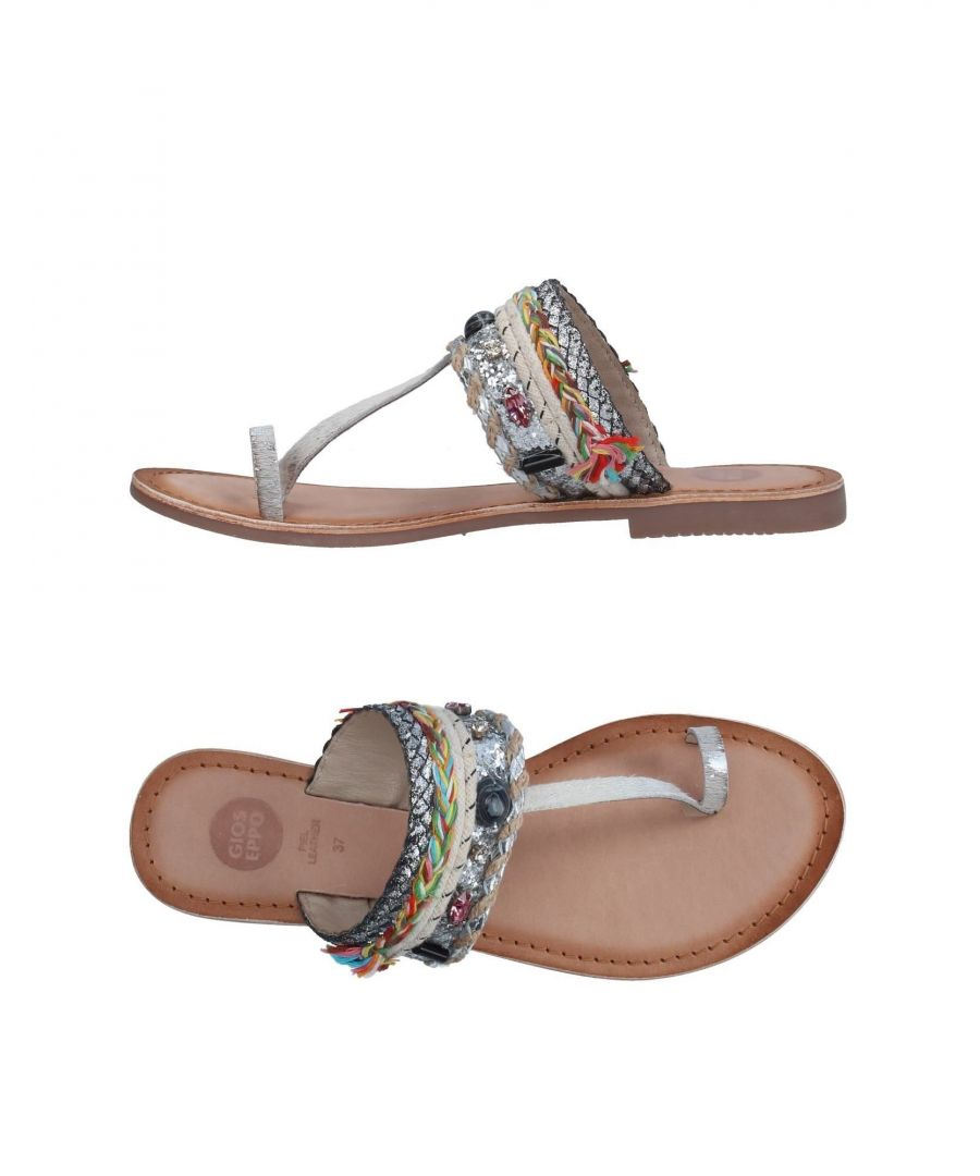 Image for Gioseppo Silver Leather Sandals
