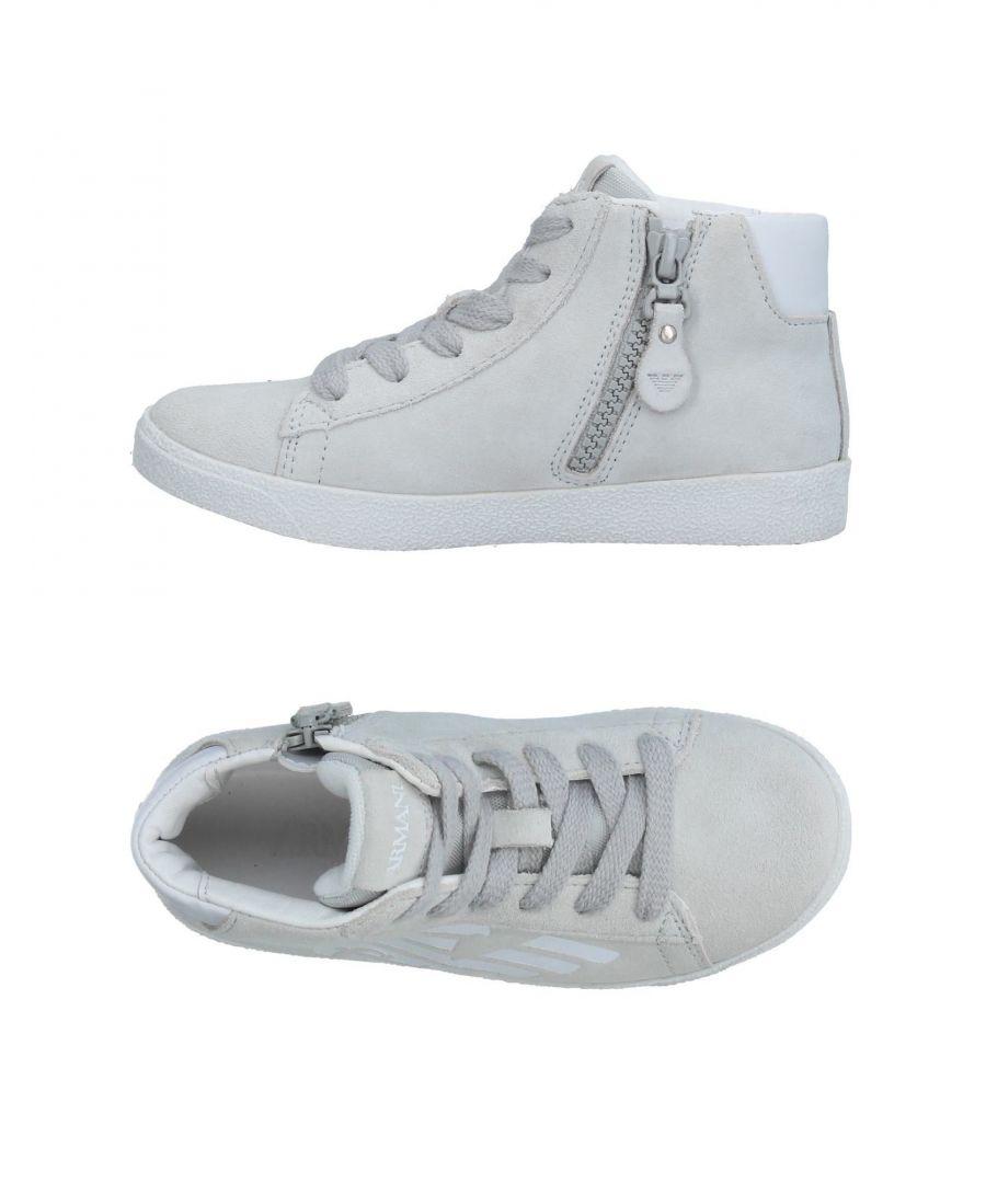 Image for FOOTWEAR Armani Junior Light grey Boy Leather