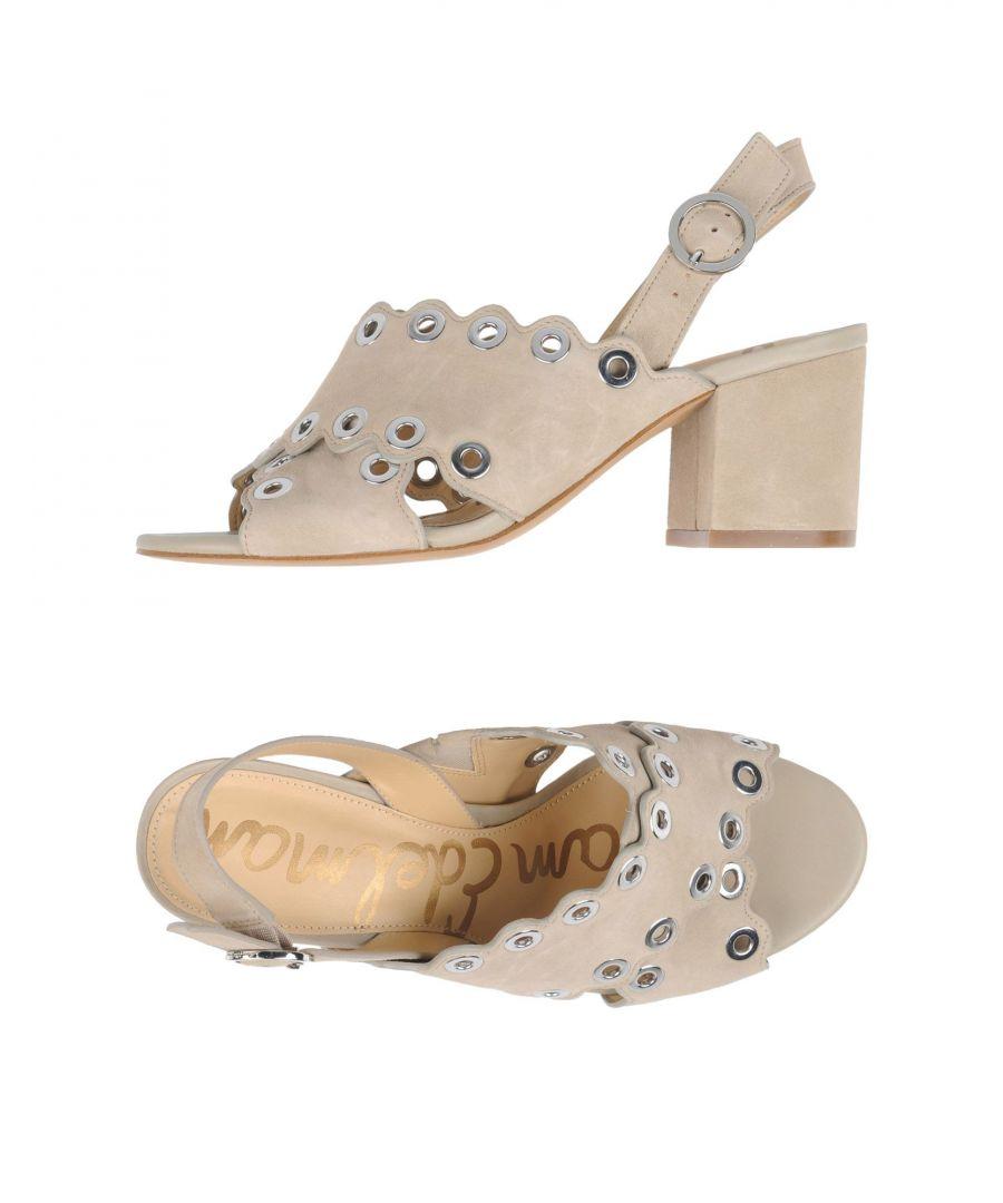 Image for Sam Edelman Woman Sandals Light grey Leather