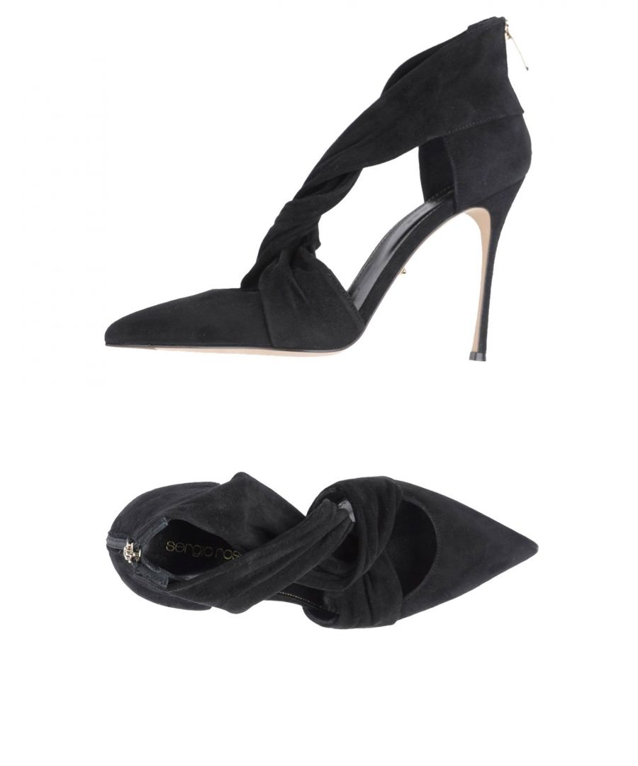 Image for Sergio Rossi Black Leather Heels