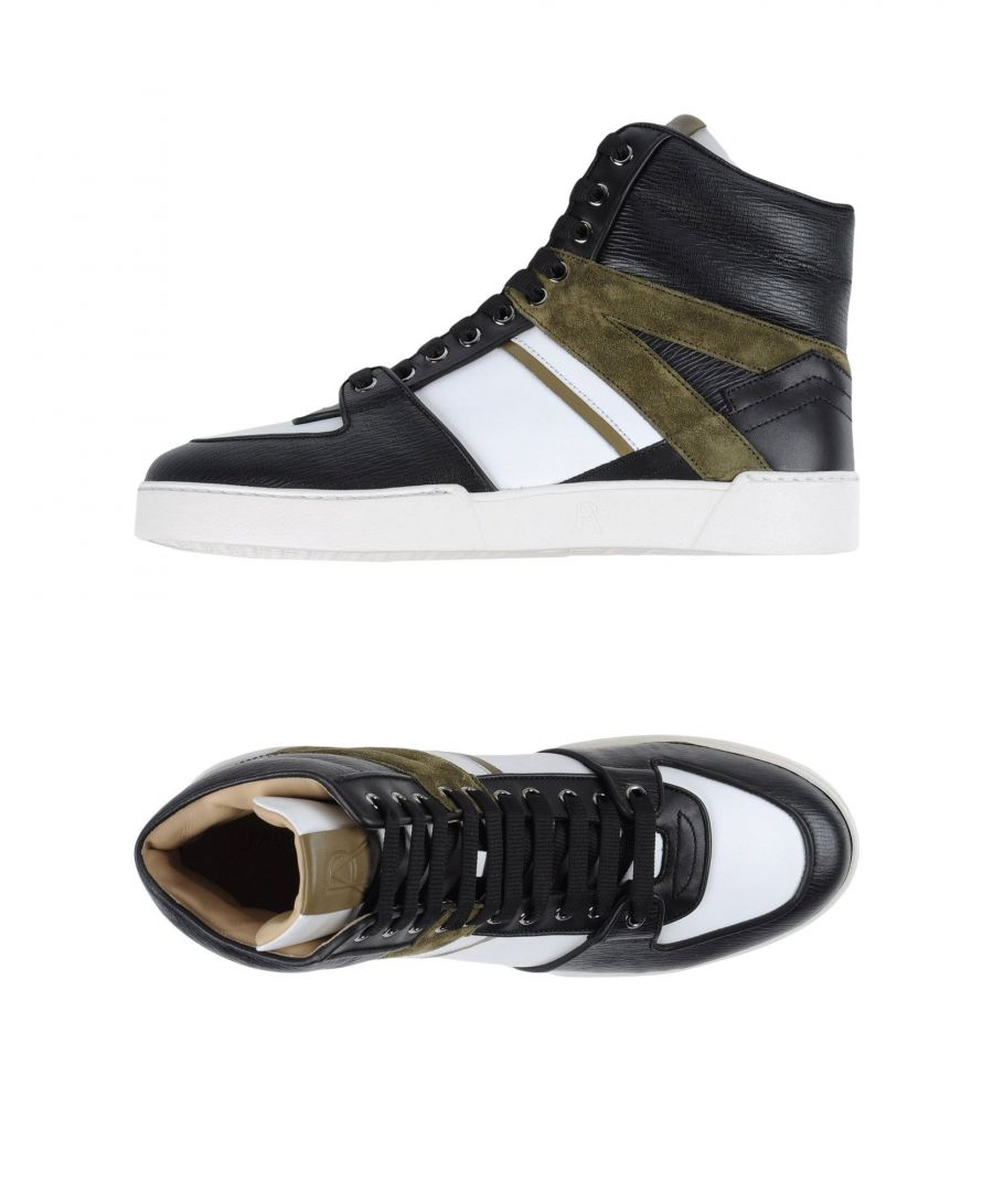 Image for Paul Andrew Black Calf Leather Sneakers
