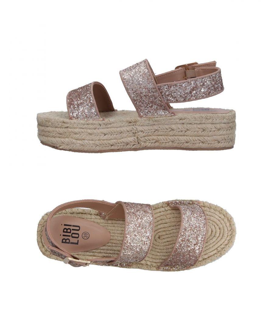 Image for Bibi Lou Pale Pink Espadrille Sandals