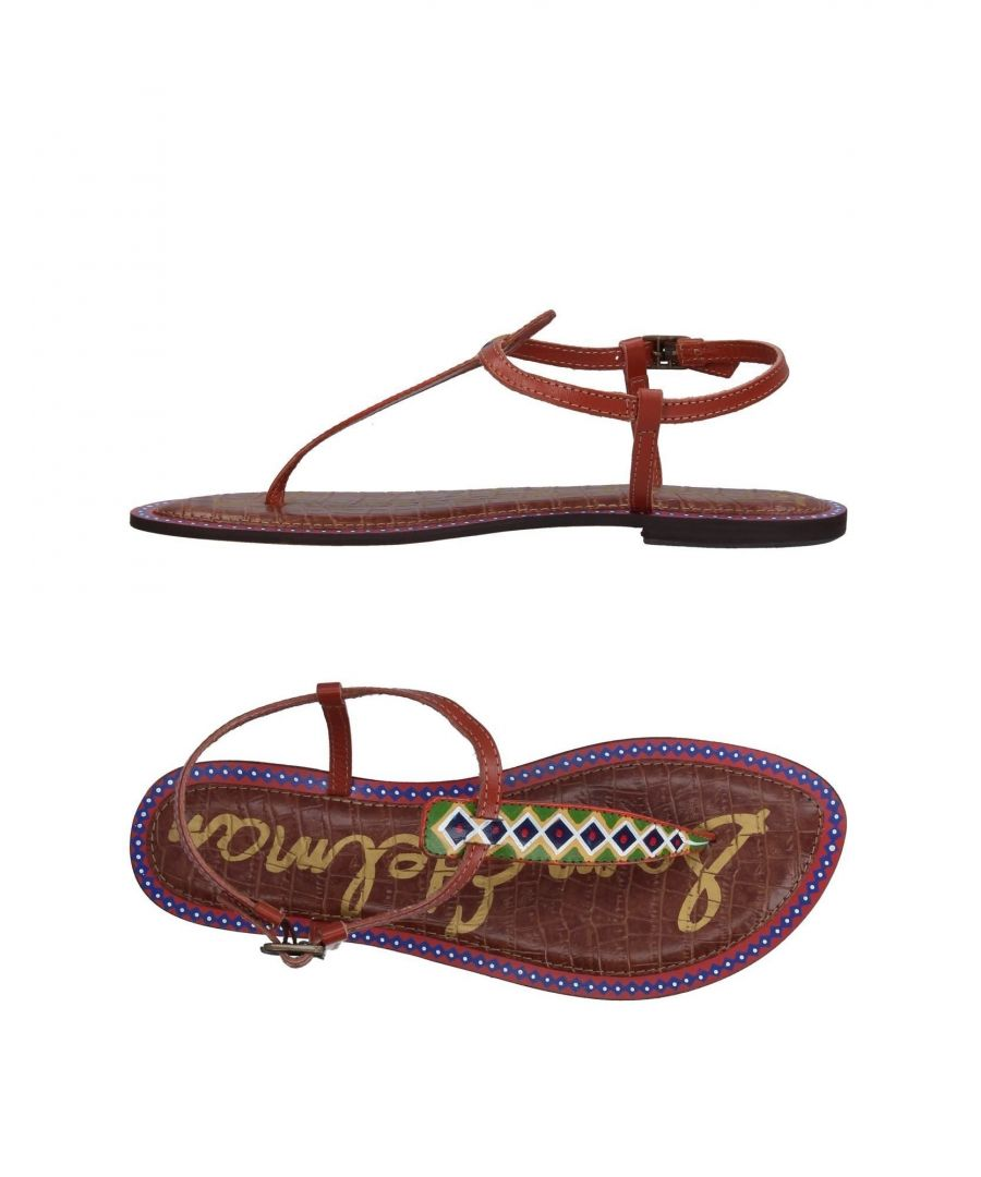 Image for Sam Edelman Brown Leather Sandals