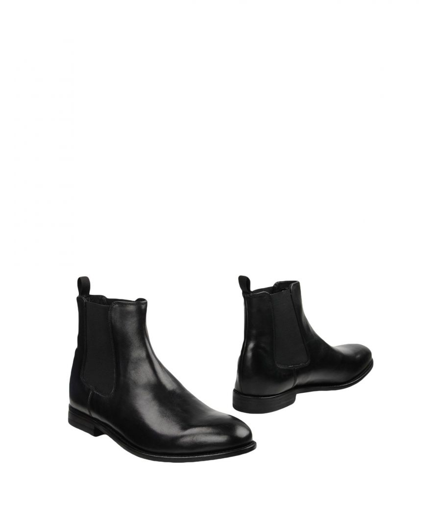 Image for Clarks Black Leather Chelsea Boots