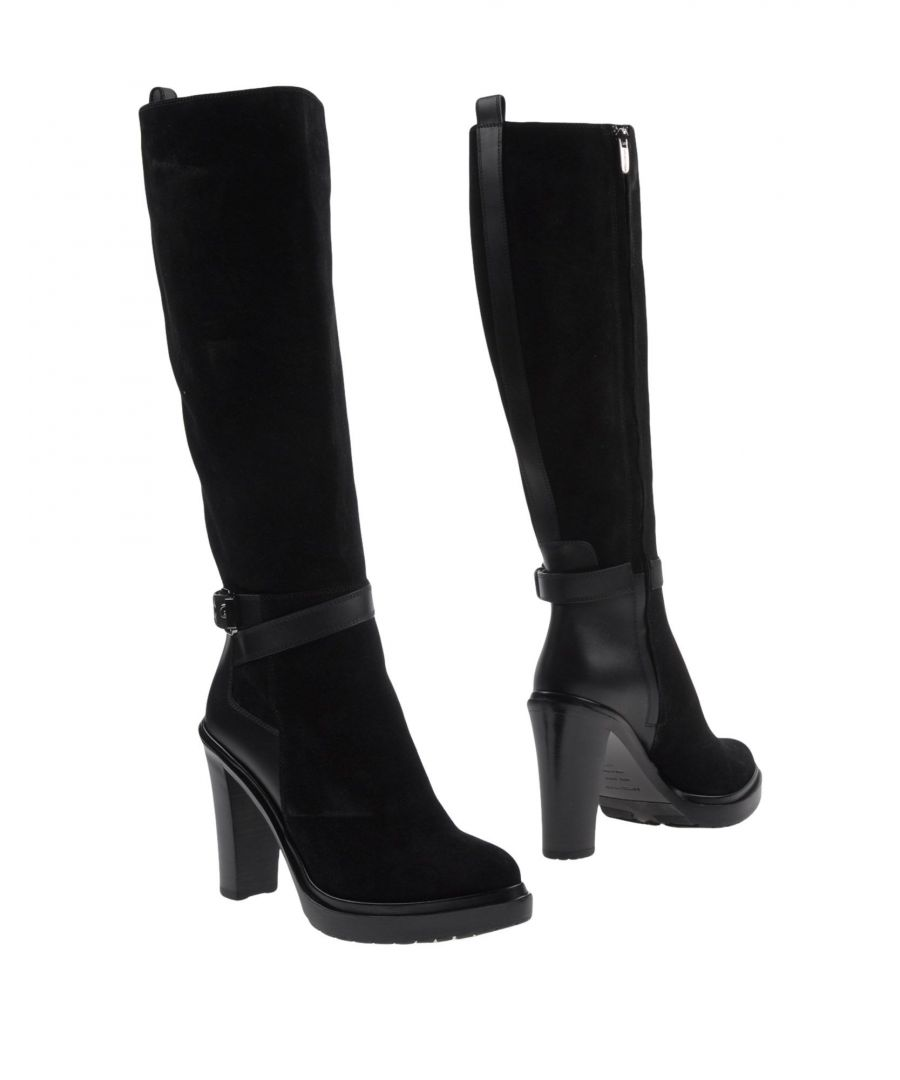 Image for Sergio Rossi Black Leather Boots