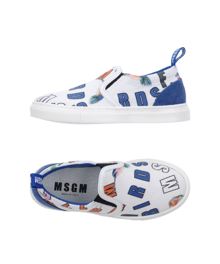 Image for FOOTWEAR Msgm White Girl Textile fibres