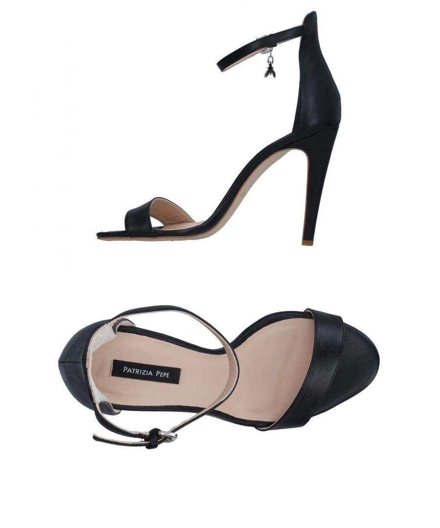 Image for Patrizia Pepe Black Leather Heels