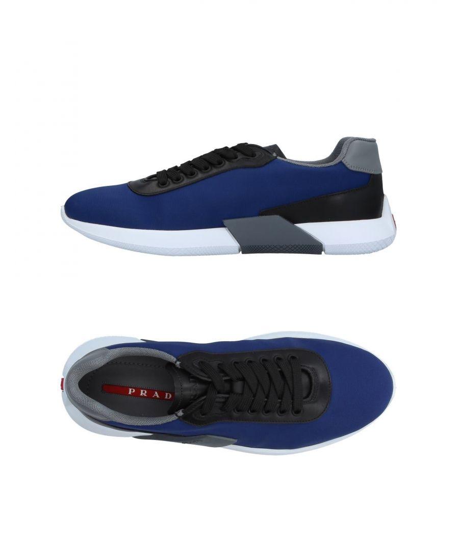 Image for Prada Linea Rossa Blue Techno Fabric Sneakers
