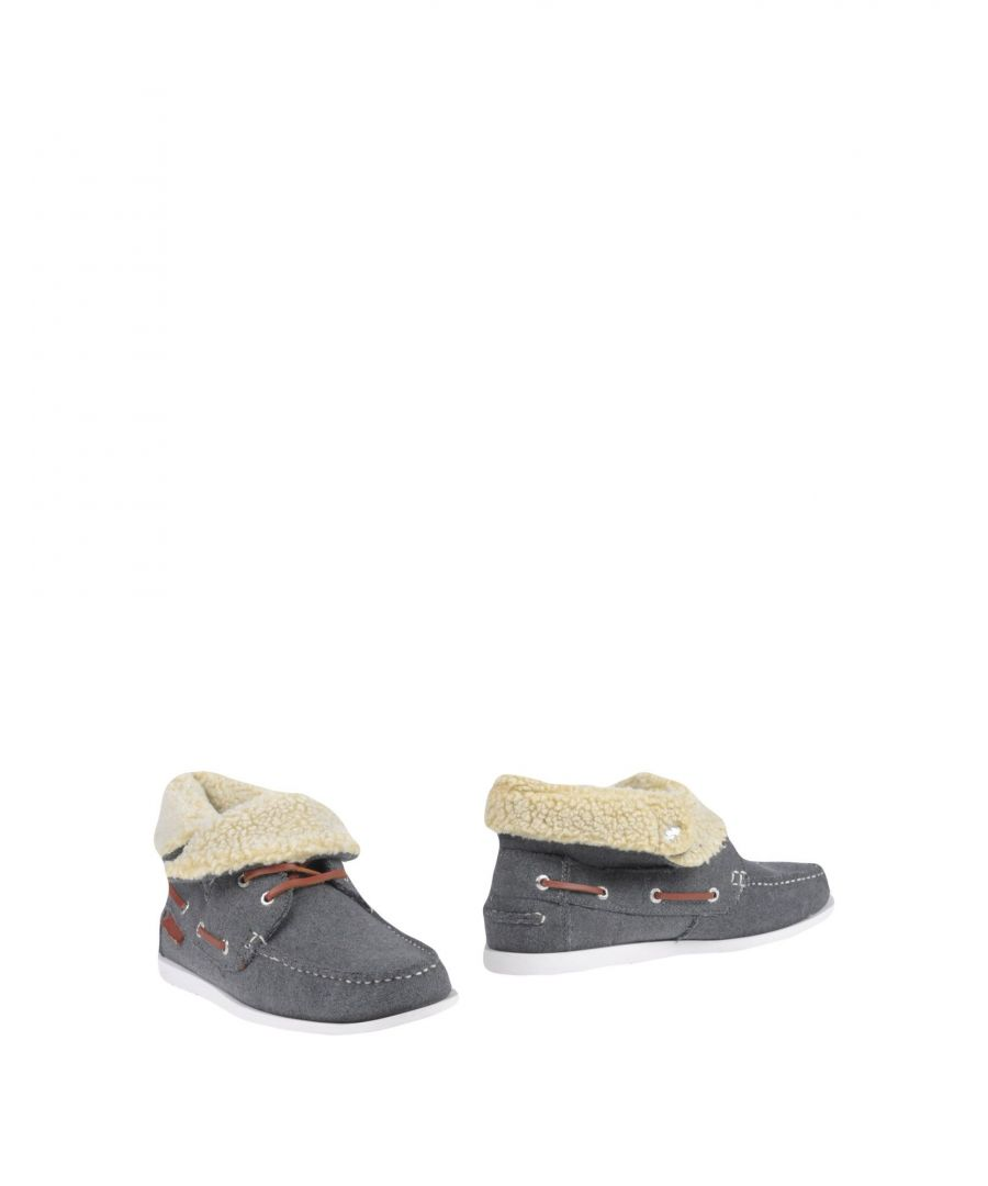 Image for Superga Grey Boots With Faux Fur Trim