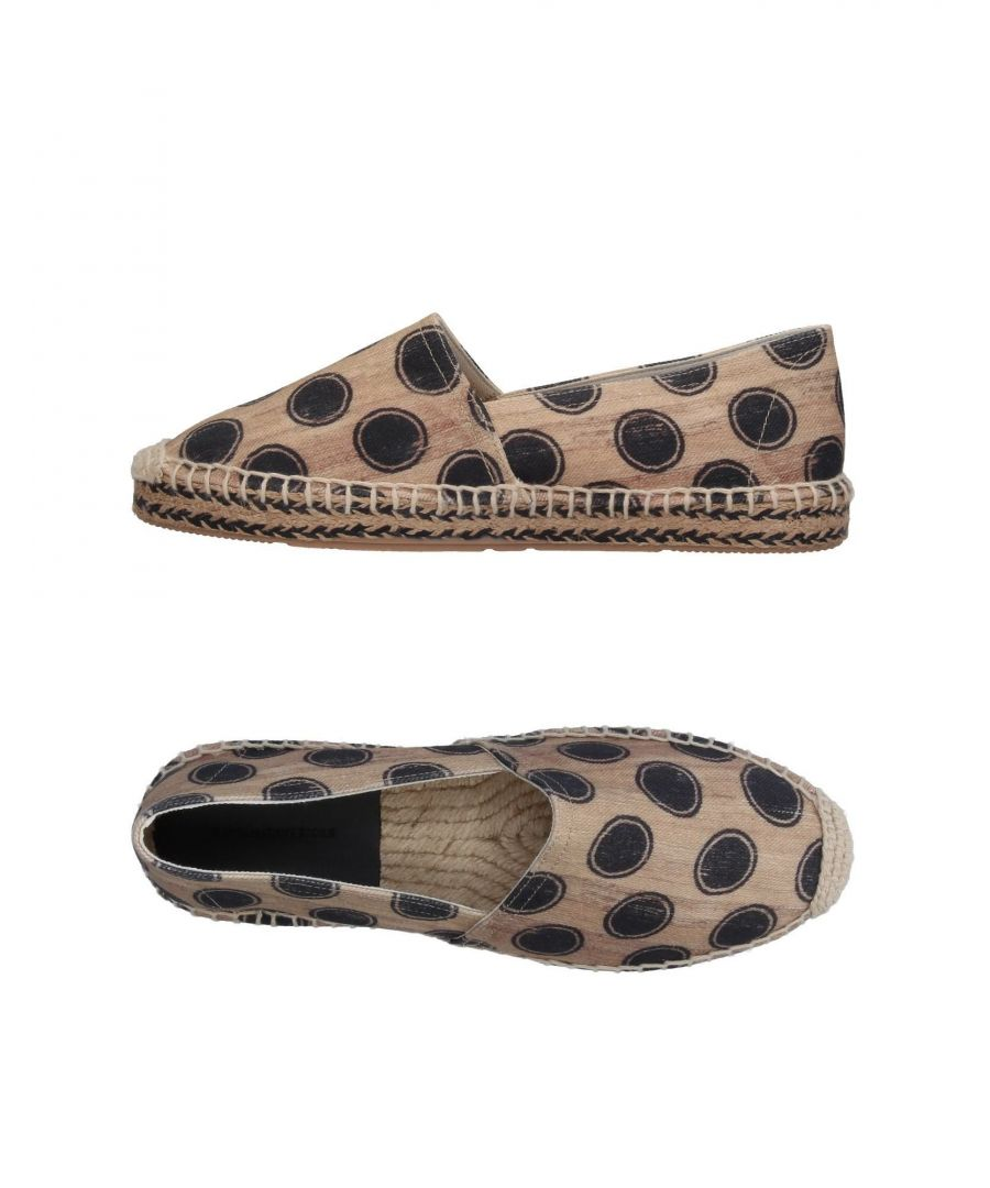 Image for Isabel Marant Étoile Beige Polka Dot Cotton Espadrilles