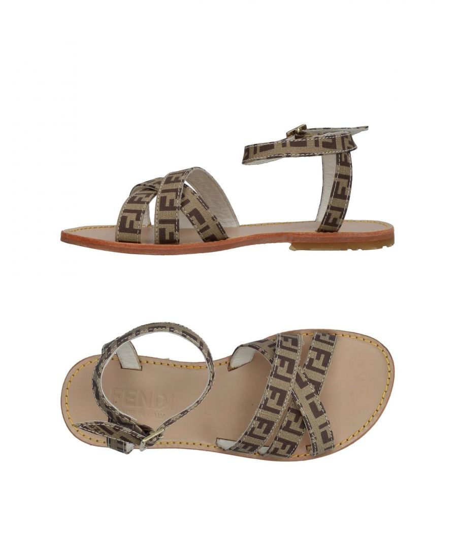Image for FOOTWEAR Fendi Khaki Girl Textile fibres